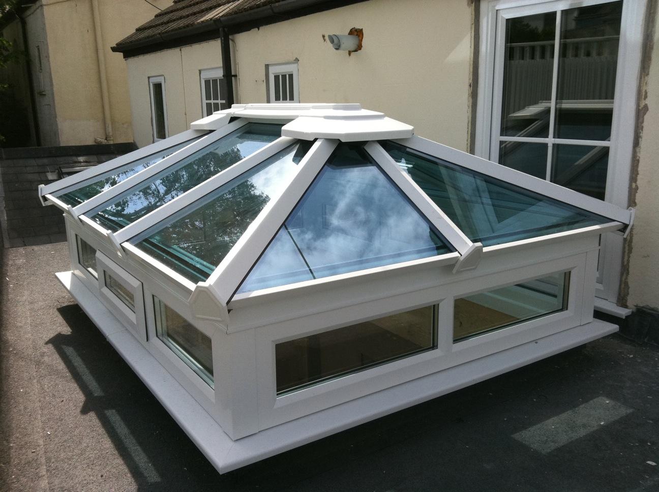 atap kaca tempered yang sesuai untuk canopy rumah anda